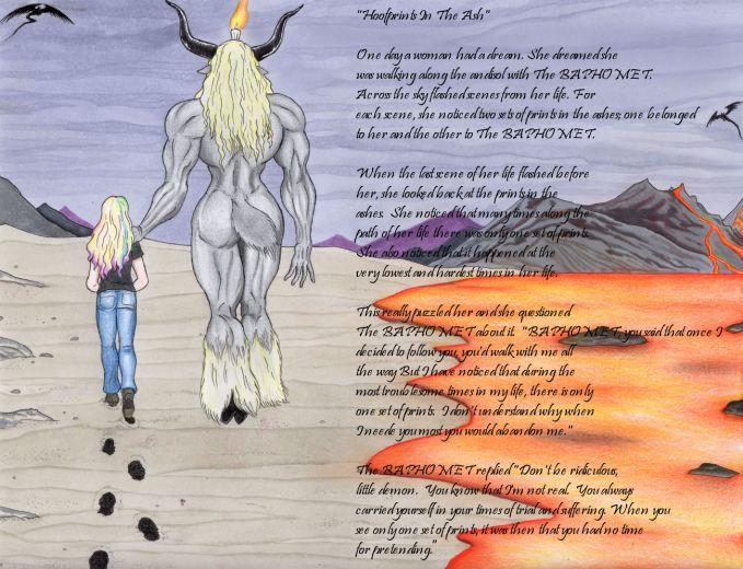 Adversarialist4- Hoofprints In The Ash (Image w Poem)